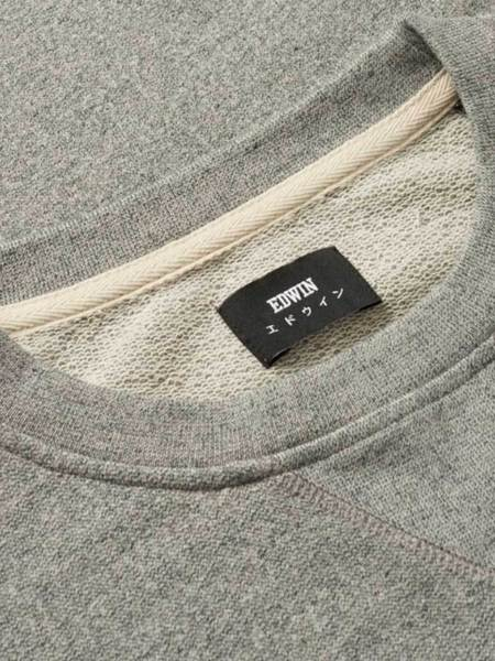 Edwin Classic Crew Sweatshirt - Grey