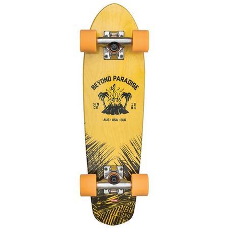 Kids Globe Shoes Globe Bantam Evo Skateboard - Blue/Yellow Maple