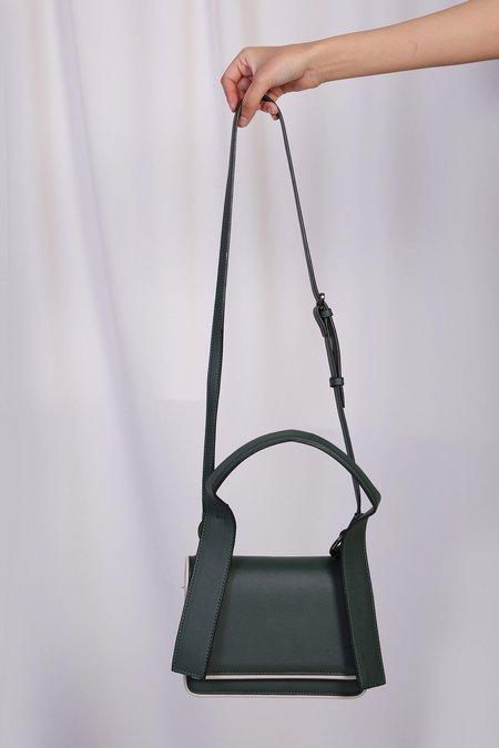 W A N T S Flap Handbag - Dark Green