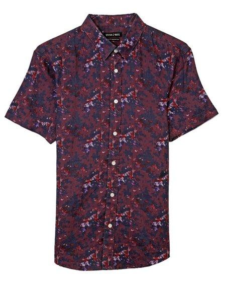 STITCHNOTE Linen Shirt - Maroon