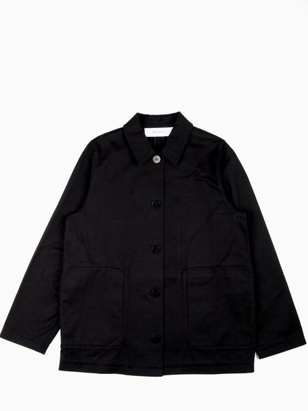 Norse Projects Rositta Cotton Twill Jacket - Black