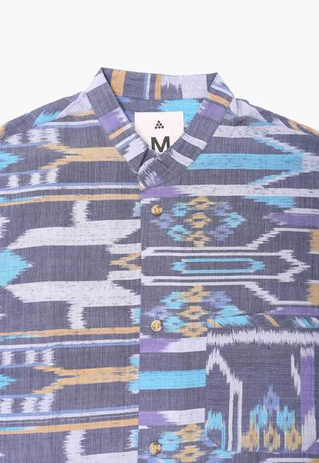 Deshal Ikat Box Button-Down