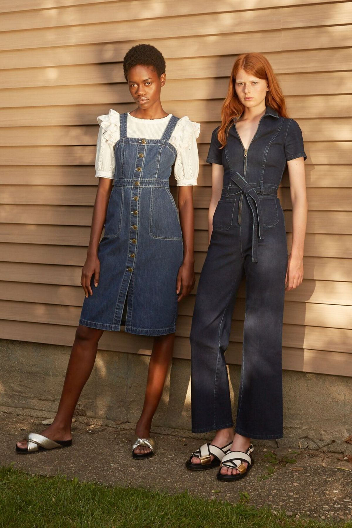 68c90340788e Rachel Antonoff Sal Jumpsuit - True blue denim