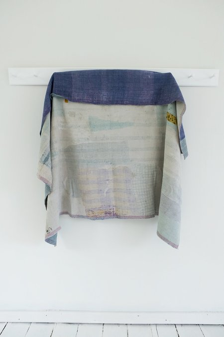 Karu Kantha Quilt - Lilac