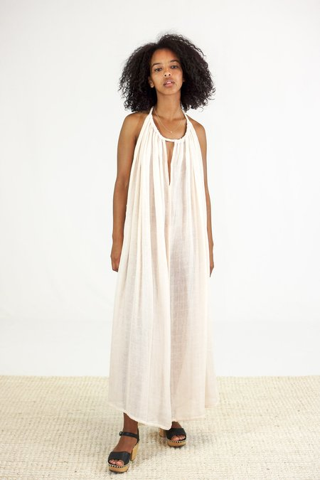 Golondrina of Mexico Nube Cover Up Dress - Dusty Rose