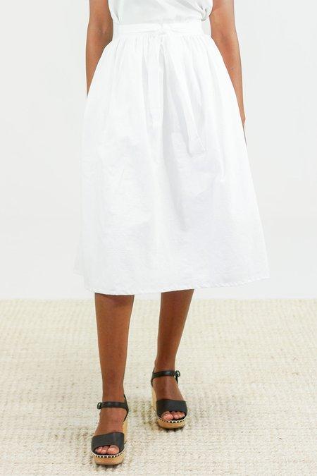 Golondrina of Mexico Pareo Wrap Skirt - White