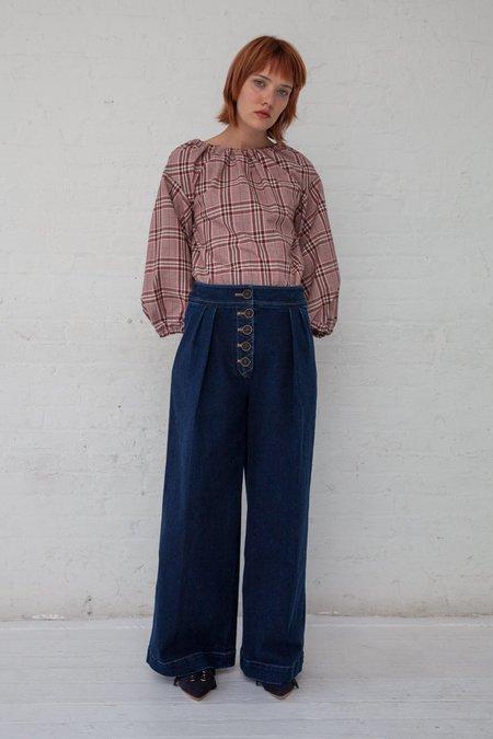 Rejina Pyo Brodie Trousers - Denim Blue