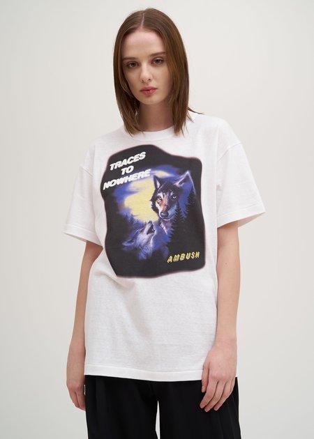 Ambush Wolf T-Shirt - White