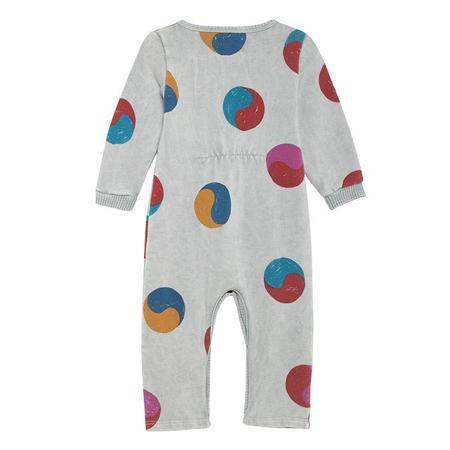 kids Bobo Choses Yin Yang Jumpsuit - Grey