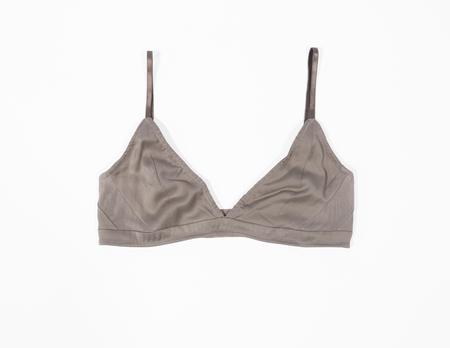 KENT Woman ZAP Organic Silk Soft Bra - Cool Grey