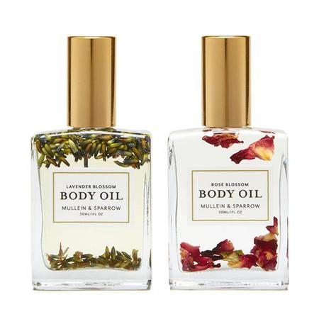 Mullein & Sparrow Blossom Body Oil Gift Set