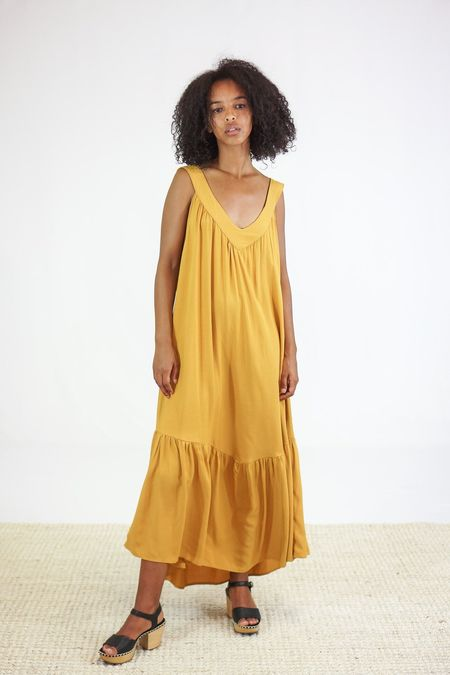 Tysa Golden Ray Dress - Citrine