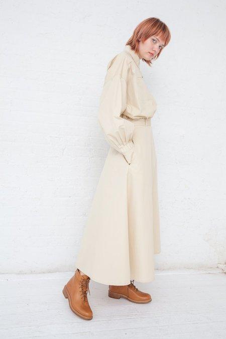 Nehera Domani Washed Poplin Dress - Light Beige