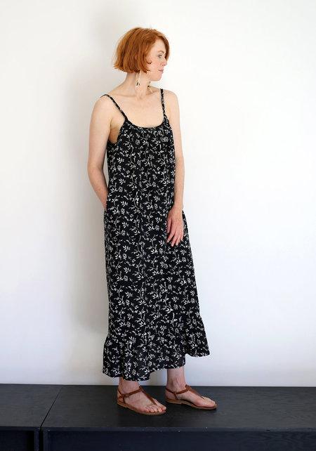 Lindsay Robinson Tier Dress - Black