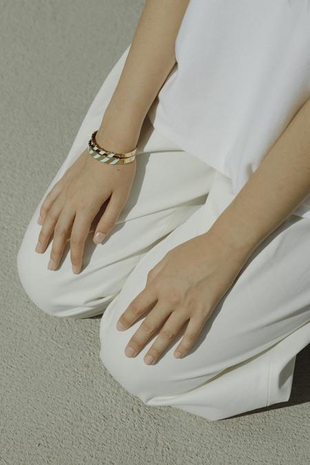 Anne Thomas Saint Malo Bracelet - WHITE