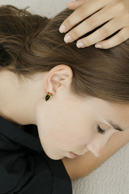 Anne Thomas Dolores Earrings - 18k Gold Filled