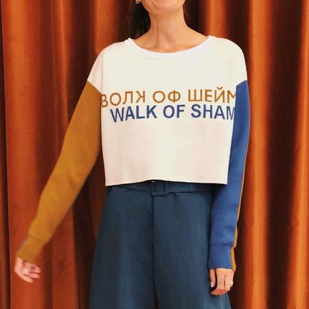 Walk of Shame Crop Sweater