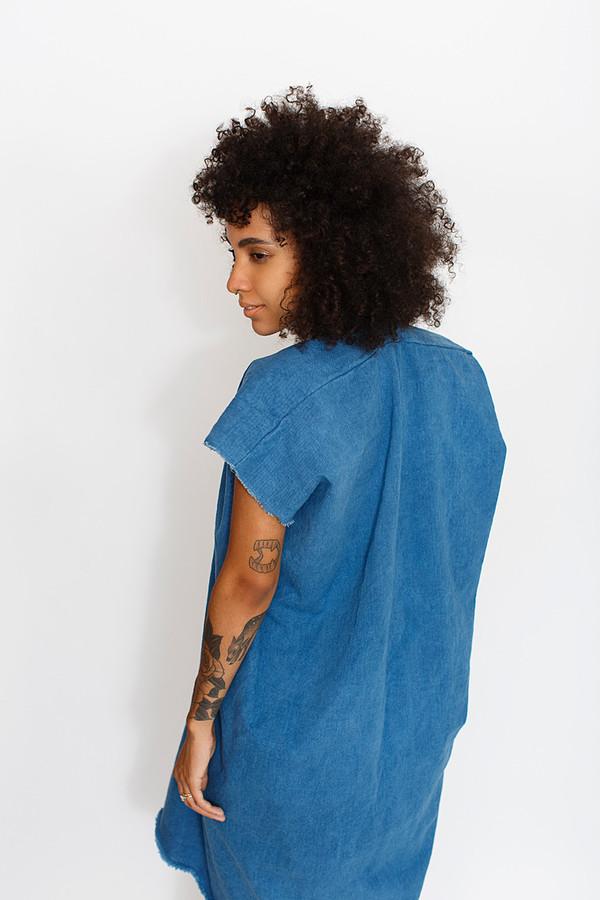 Miranda Bennett Everyday Dress | Cropped Denim
