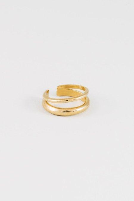 Wolf Circus Balance Ring - Gold