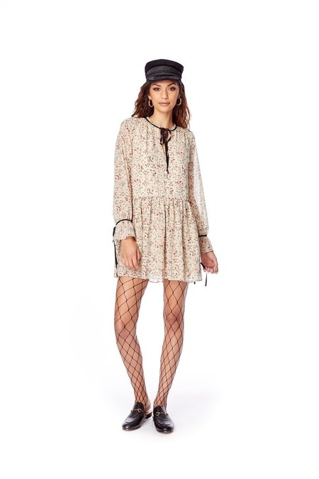Lost + Wander Indie Sunday Mini Dress - Cream