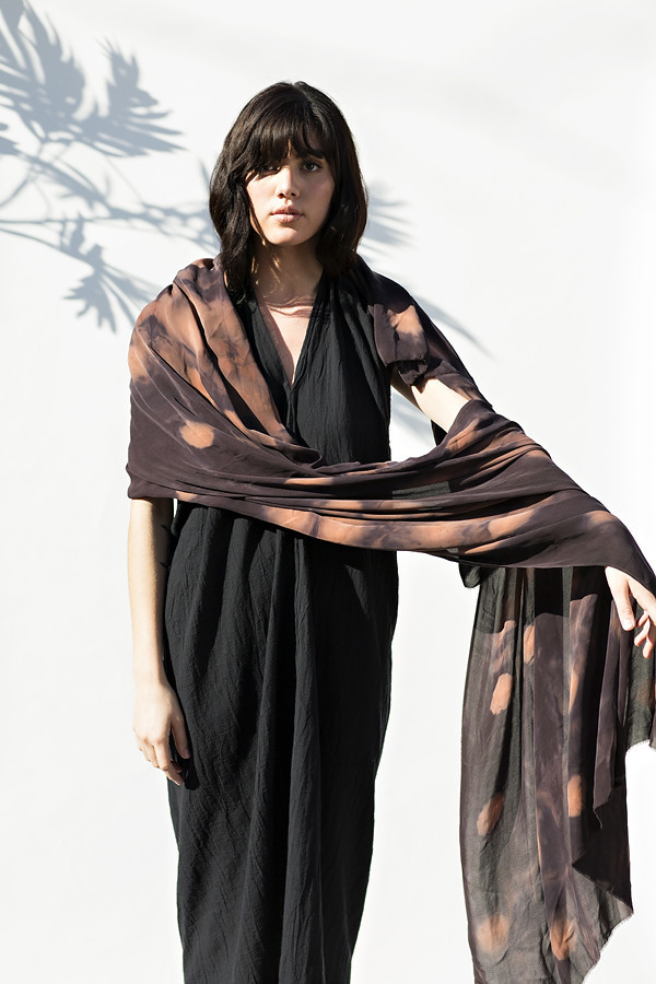 Night Cast Silk Wrap