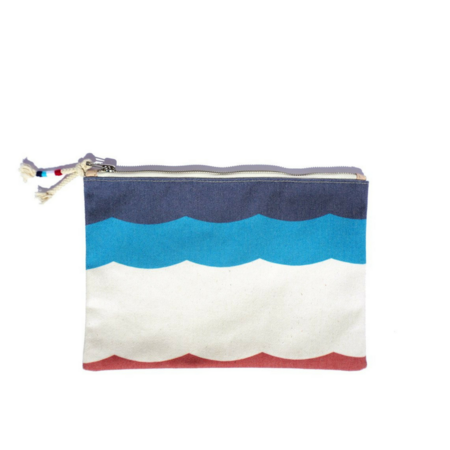 Sol Angeles Flag Canvas Clutch