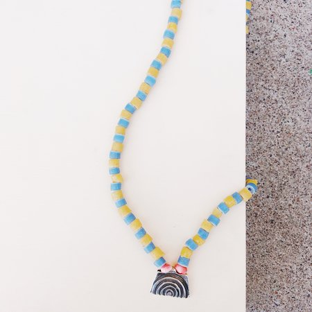 Punkwasp African Bead Necklace - Arch