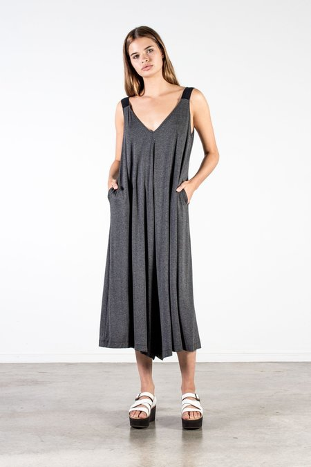 Nyne Otto Romper - Charcoal