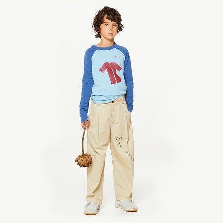 Kids Unisex The Animals Observatory Cricket T-Shirt - blue/maroon