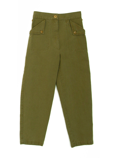 Ilana Kohn Huxie Pants in Umber Canvas