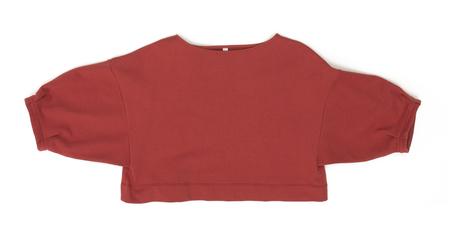 Ilana Kohn Liza Shirt in Cherry Terry