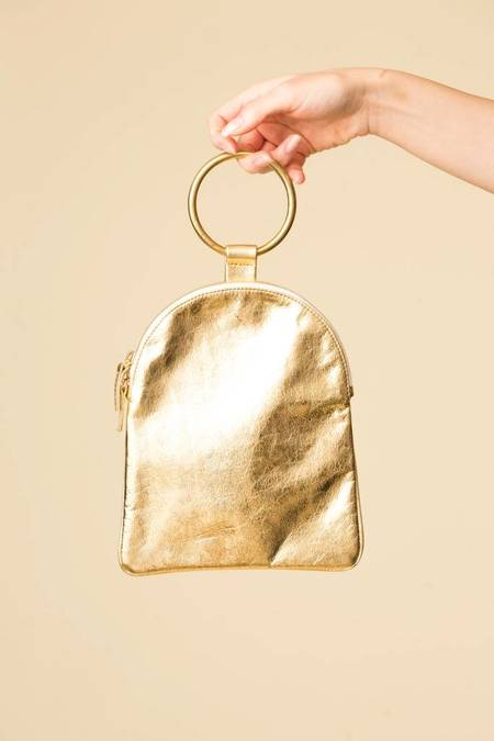 Otaat Myers Large Pouch - Gold