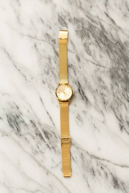 CLUSE La Vedette Mesh Watch - GOLD