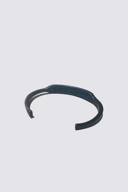 Giles & Brother ID Cuff - Military Blue