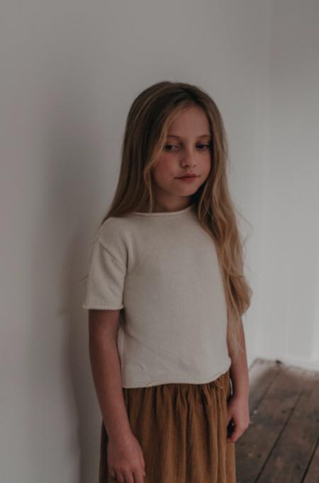 KIDS Daughter Co Joni Tee - Cream
