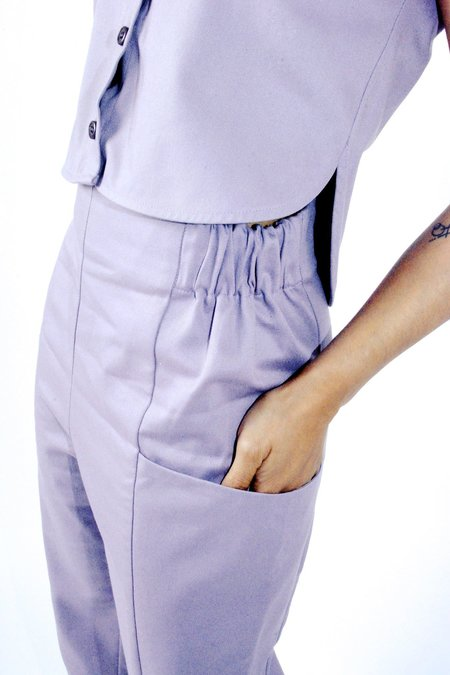 In God We Trust Regent Pant - Lilac