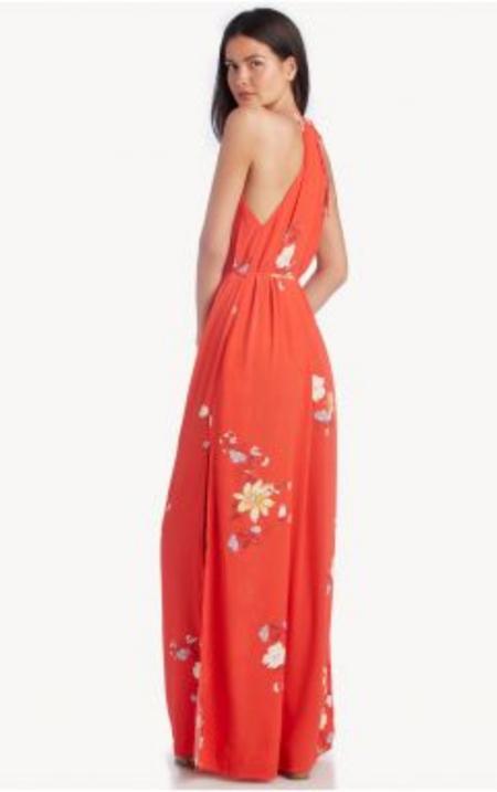 Capulet Lia Maxi Dress - RED