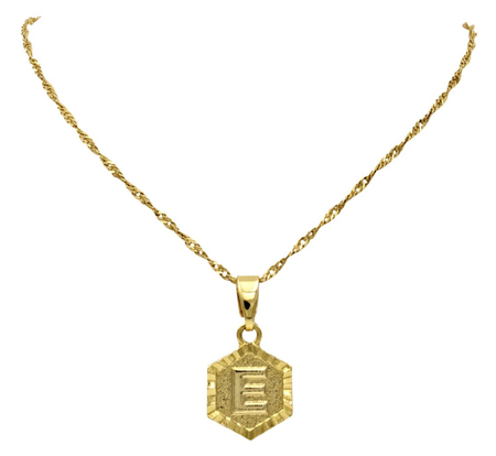 Ellie Vail Kendra Initial Necklace - GOLD