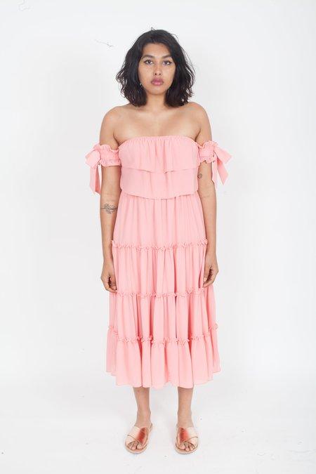 MISA Micaela Dress - Blush