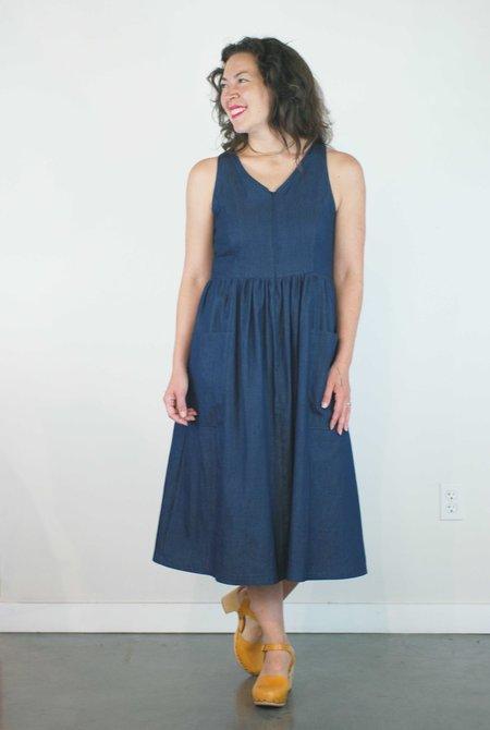 Rebe Estelle Dress - Denim