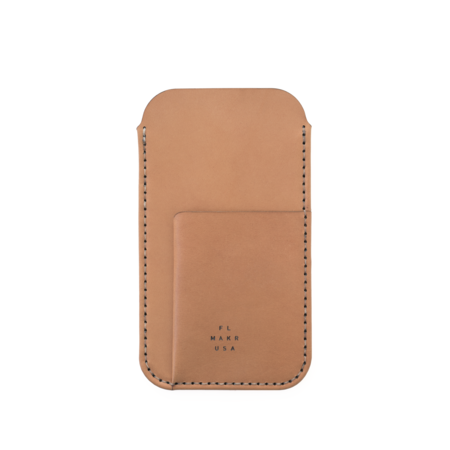 MAKR iPhone 6/7/8 with Card Sleeve - TOBACCO