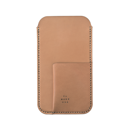 MAKR iPhone 6/7/8 Plus with Card Sleeve - TOBACCO