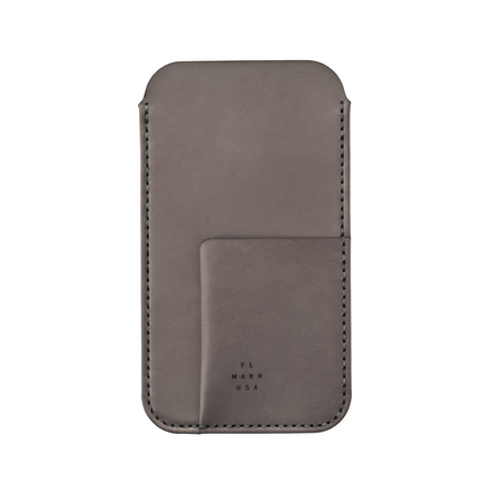 MAKR iPhone 6/7/8 Plus with Card Sleeve - CHARCOAL
