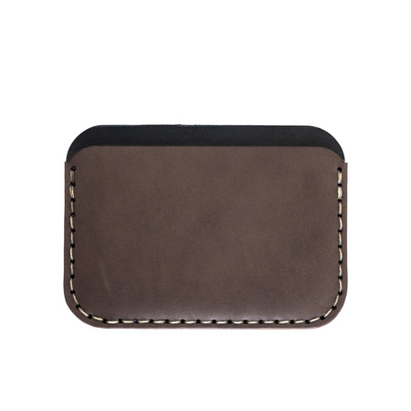 MAKR Round Wallet - Charcoal