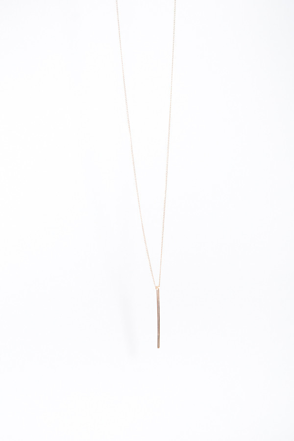By Boe Linear Drop Necklace