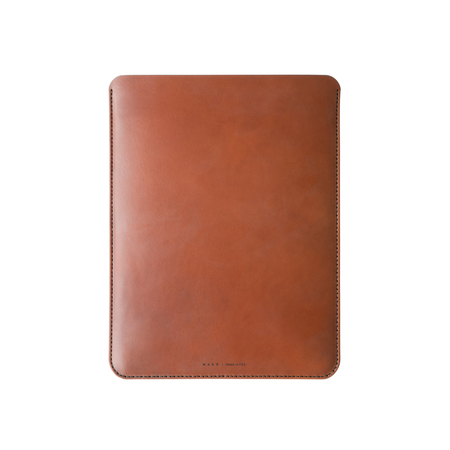 MAKR iPad Pro 12.9 Sleeve - Saddle Tan