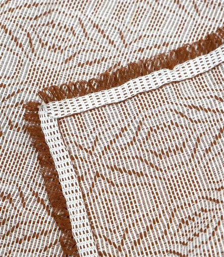 LOCANO SUMMER PRISM BEACH MAT - BROWN
