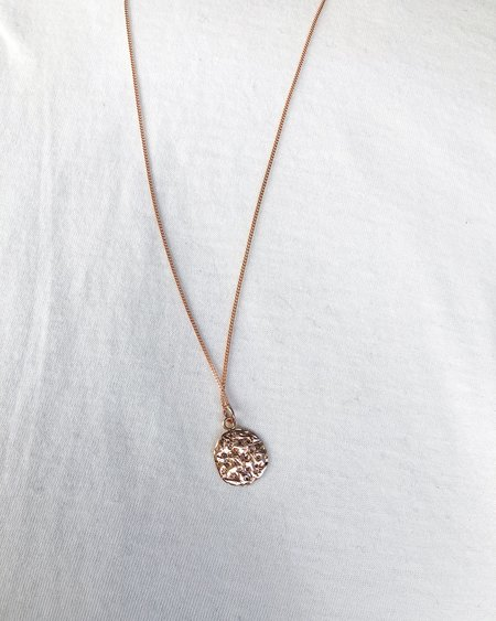 52 GYPSIES ANEMONE NECKLACE - Rose Gold