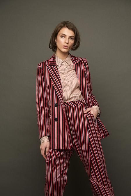 N-DUO Striped blazer