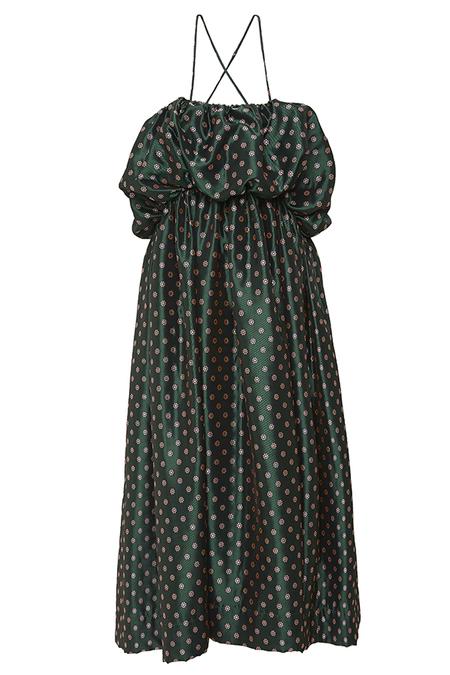N-DUO sorbet dress - Green